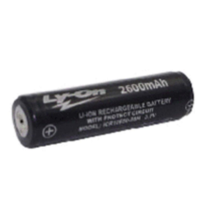 Batterij herlaadbaar Li-ion 18650 3,7Volt 2600mAh