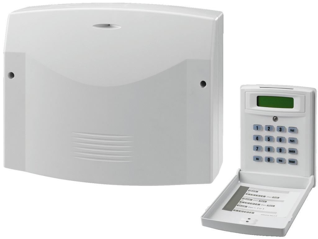 Alarmcentrale met 8 zones incl LCD codeklavier DA-8000