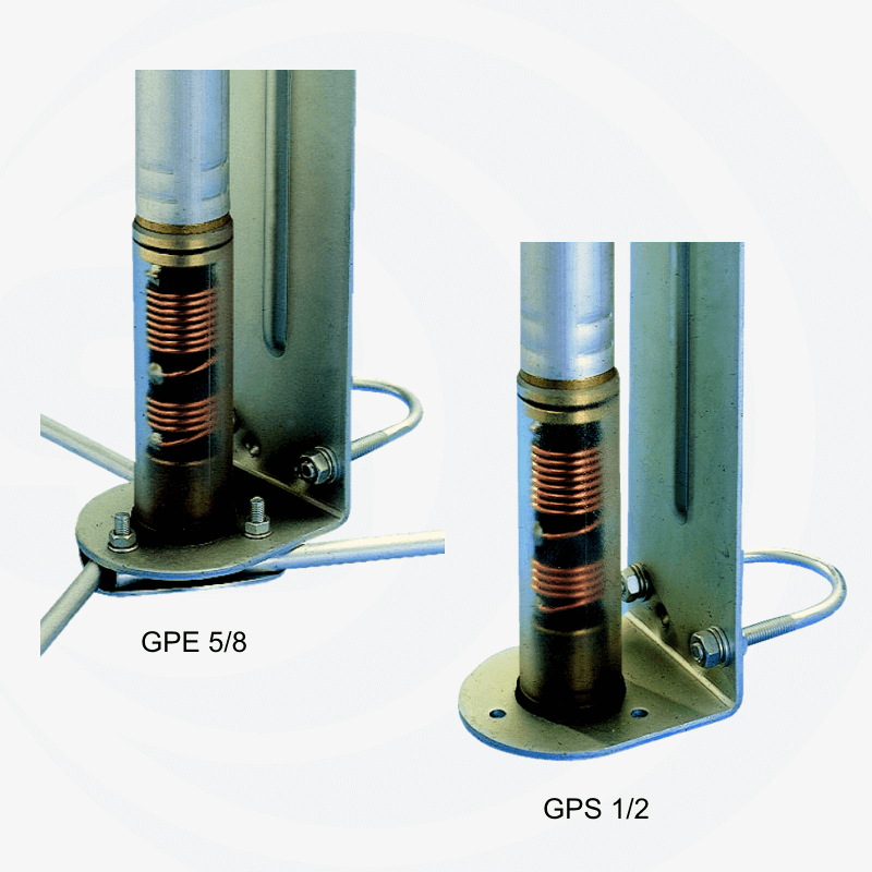 Sirio 27Mhz basis antenne 690cm GPE27 5/8