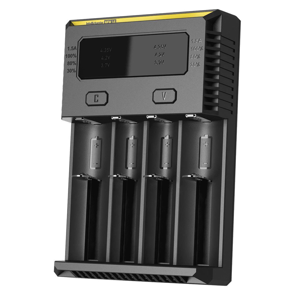 Batterijlader 4x 18650