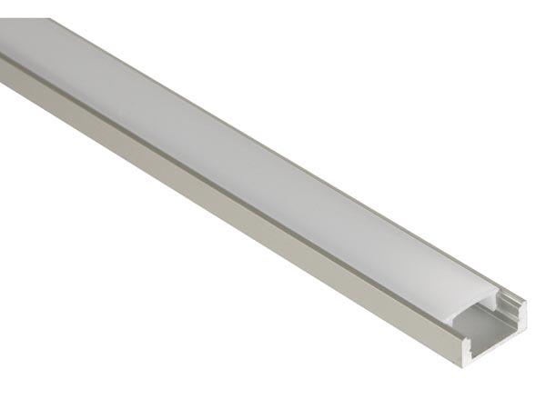 LED aluminium profiel laag opbouw 2 meter