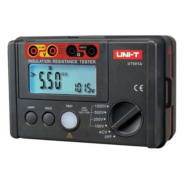 Isolatieweerstandsmeter digitaal UT-501A