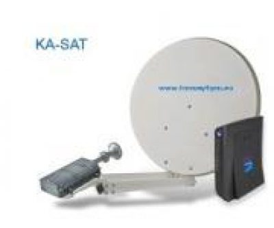 Tooway Internet via satelliet