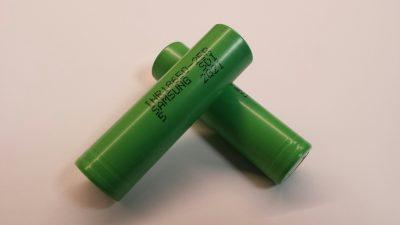 Batterij herlaadbaar Li-ion 18650-25R 3,7Volt 2550mAh voor E-Sigaret