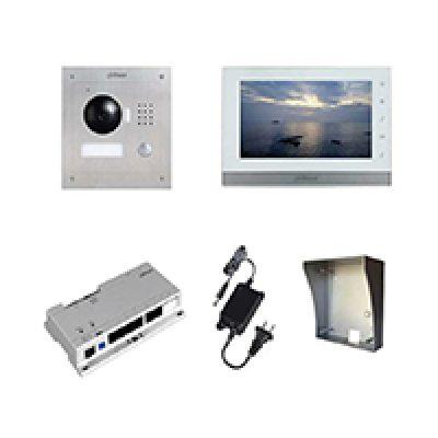 Dahua iP videofoon kit opbouw of inbouw