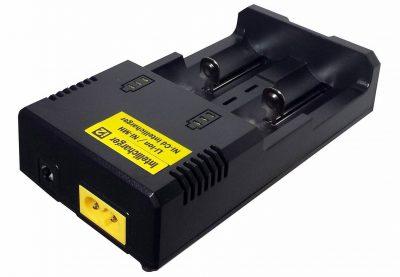 Batterijlader 2x 18650