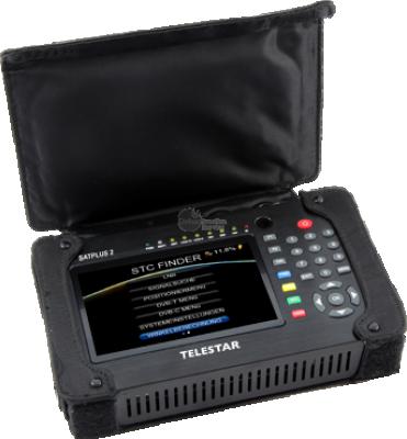 Satellietmeter met 5inch TFT LCD Telestar SATPLUS 2