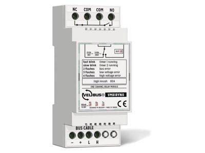 Velbus 1 kanaals relaismodule VMBRYNO