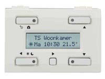 Velbus temperatuur controller VMB1TCW (kleur wit)