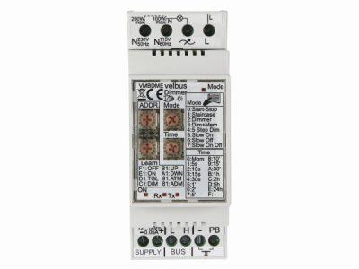 Velbus 1 kanaal dimmer tot 300Watt VMB1DM (PROMO)