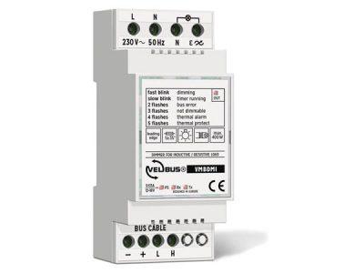 Velbus dimmer voor inductieve/resistieve last VMBDMI