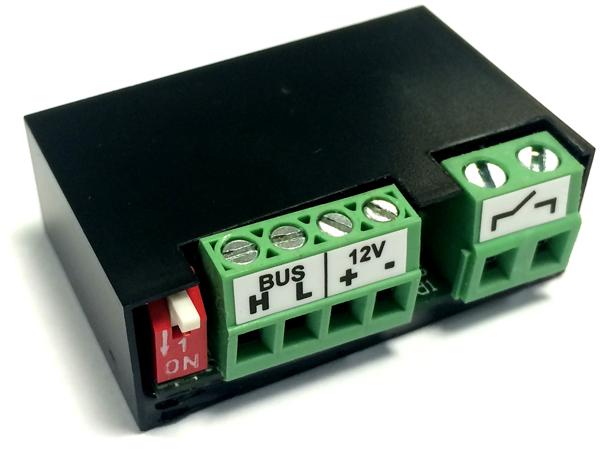 Velbus universele mini relaismodule VMB1RYNOS